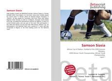 Bookcover of Samson Siasia