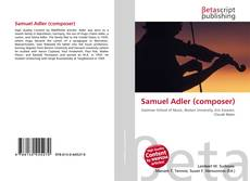 Bookcover of Samuel Adler (composer)