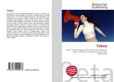 Bookcover of Taboo