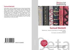 Обложка Samuel Beckett