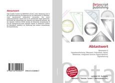 Buchcover von Abtastwert