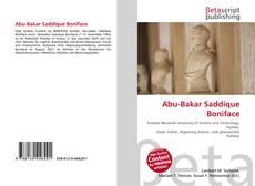 Bookcover of Abu-Bakar Saddique Boniface