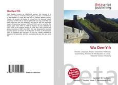 Buchcover von Wu Den-Yih