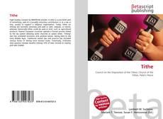 Tithe kitap kapağı