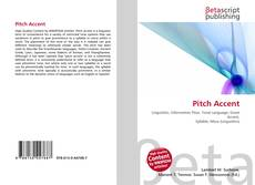 Bookcover of Pitch Accent