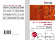 Bookcover of North Carolina General Assembly