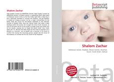 Обложка Shalom Zachar
