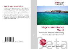 Bookcover of Siege of Malta (World War II)