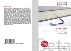 Обложка Zane Grey