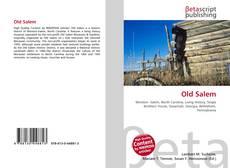 Bookcover of Old Salem