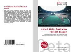 Bookcover of United States Australian Football League