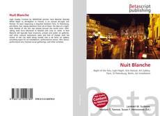 Capa do livro de Nuit Blanche