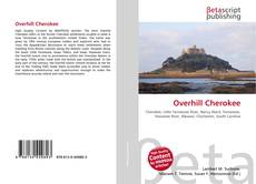 Buchcover von Overhill Cherokee