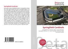 Capa do livro de Springfield Cardinals