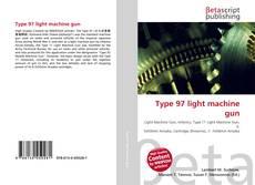 Portada del libro de Type 97 light machine gun