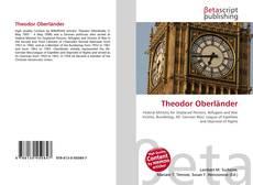 Portada del libro de Theodor Oberländer