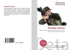 Portada del libro de Theodor Scherer