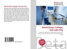 Westminster College, Salt Lake City kitap kapağı