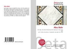 Abu Bakr kitap kapağı