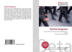 Capa do livro de Patrick Ferguson