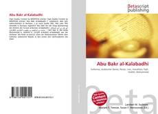 Abu Bakr al-Kalabadhi kitap kapağı