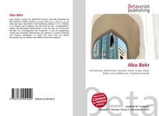 Buchcover von Abu Bekr