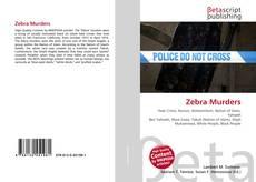 Couverture de Zebra Murders