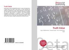 Buchcover von Truth Value