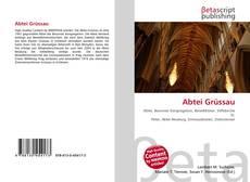 Capa do livro de Abtei Grüssau