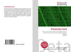 Bookcover of Proximity Card