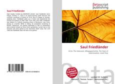 Saul Friedländer的封面
