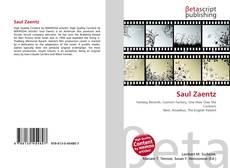 Saul Zaentz kitap kapağı
