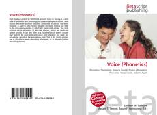 Bookcover of Voice (Phonetics)