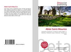 Bookcover of Abtei Saint-Maurice