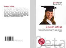 Bookcover of Simpson College