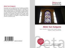 Capa do livro de Abtei San Galgano