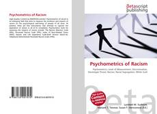 Bookcover of Psychometrics of Racism