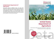 Buchcover von United States Department of Agriculture