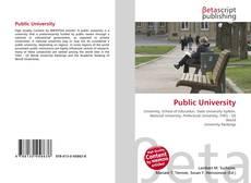 Public University kitap kapağı