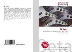 N Sync kitap kapağı