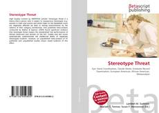 Capa do livro de Stereotype Threat