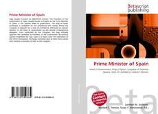 Portada del libro de Prime Minister of Spain