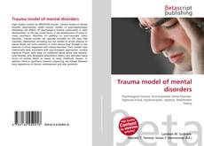 Buchcover von Trauma model of mental disorders