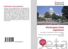 Bookcover of Washington State Legislature