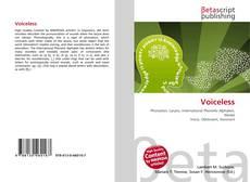 Buchcover von Voiceless