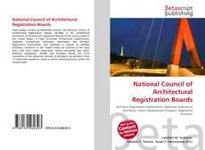 Couverture de National Council of Architectural Registration Boards