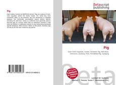 Bookcover of Pig
