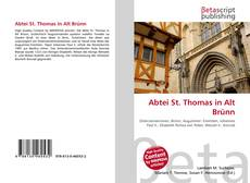 Bookcover of Abtei St. Thomas in Alt Brünn