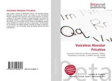 Buchcover von Voiceless Alveolar Fricative