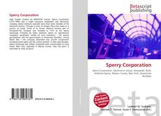 Bookcover of Sperry Corporation